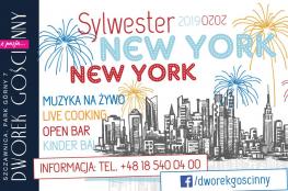 Szczawnica Wydarzenie Sylwester Sylwester 2019/2020 - New York, New York